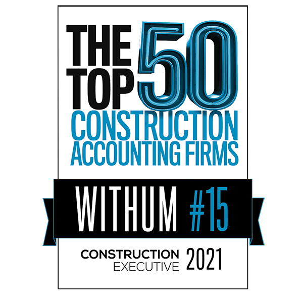 Banner of the top 50 construction accounting firms